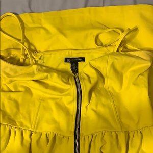 Inc yellow dress, size xl, like new no tag